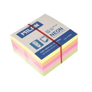 POST IT MILAN 50x50mm NEON BLOCO 250FLS