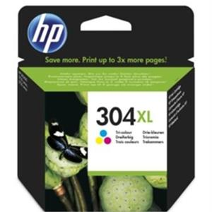 TINTEIRO HP 304XL TRICOLOR ORIGINAL