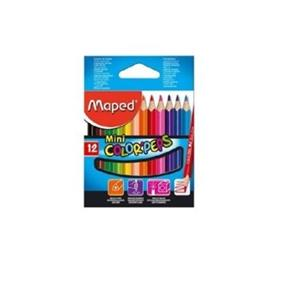 LAPIS DE COR MAPED MINI COLOR PEPS CURTO (Cx.12uni.)