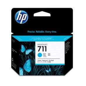 TINTEIRO HP 711 CYAN (29ML) ORIGINAL