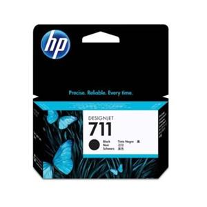 TINTEIRO HP 711 PRETO (38ML) ORIGINAL