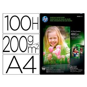 PAPEL FOTO GLOSSY - 200 G/M2. DIN A4 HP