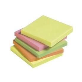 "POST IT 76x76mm ""NEON"" CORES SORTIDAS FORTES"