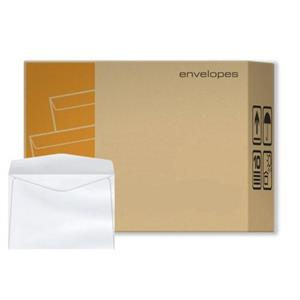 CAIXA 1000 ENVELOPES [BRANCO] 90x140mm 80GR.