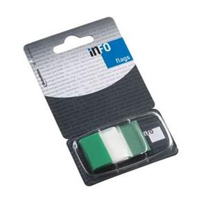 SINALIZADOR INFO NOTES INDEX MEDIO 25x43mm [50unid.] VERDE