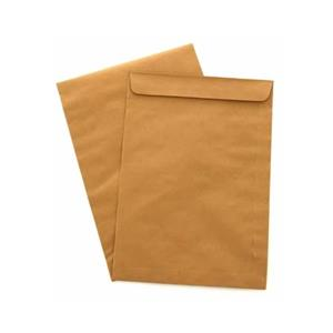 CAIXA 200 ENVELOPES SACO KRAFT C4 229x324mm