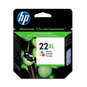 TINTEIRO HP 22XL TRICOLOR ORIGINAL