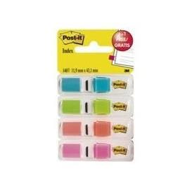 SINALIZADOR Post-it® INDEX MEDIO 11,9x43,1mm [35unid.] 4 CORES