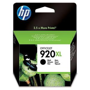 TINTEIRO HP 920XL PRETO ORIGINAL