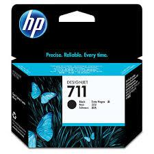 TINTEIRO HP 711 PRETO ALTA CAP. (80ML) ORIGINAL