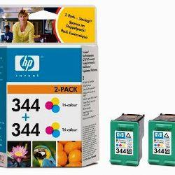 TINTEIRO HP 344 TRICOLOR ORIGINAL PACK DUPLO