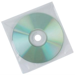 ENVELOPE DE POLIPROPILENO PARA CD´S/DVD´S TRANSPARENTES E BRANCOS Q-CONNECT