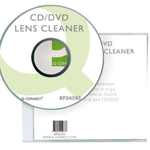 DISCO DE LIMPEZA PARA LEITOR DVD/CD Q-CONNECT