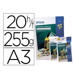PAPEL FOTO GLOSSY 255 G/M2. DIN A3 EPSON