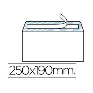 ENVELOPE QUARTO PROLONGADO 190 X 250 MM BRANCO LP