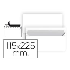 ENVELOPE AMERICANO 115 X 225 MM BRANCO LP