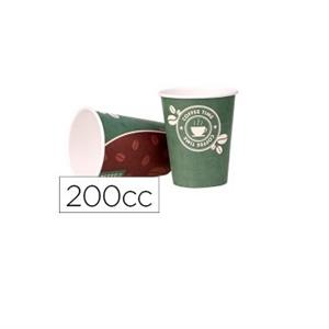 COPOS PAPEL AGUA / CAFE 200ML (Pack50)