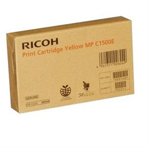 TINTA GEL RICOH MPC1500SP AMARELO ORIGINAL