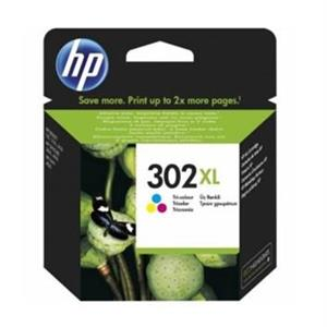 TINTEIRO HP 302XL TRICOLOR ORIGINAL