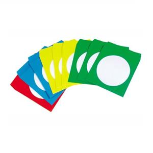 ENVELOPE DE PAPEL CORES SORTIDAS PARA CD´S/DVD´S Q-CONNECT
